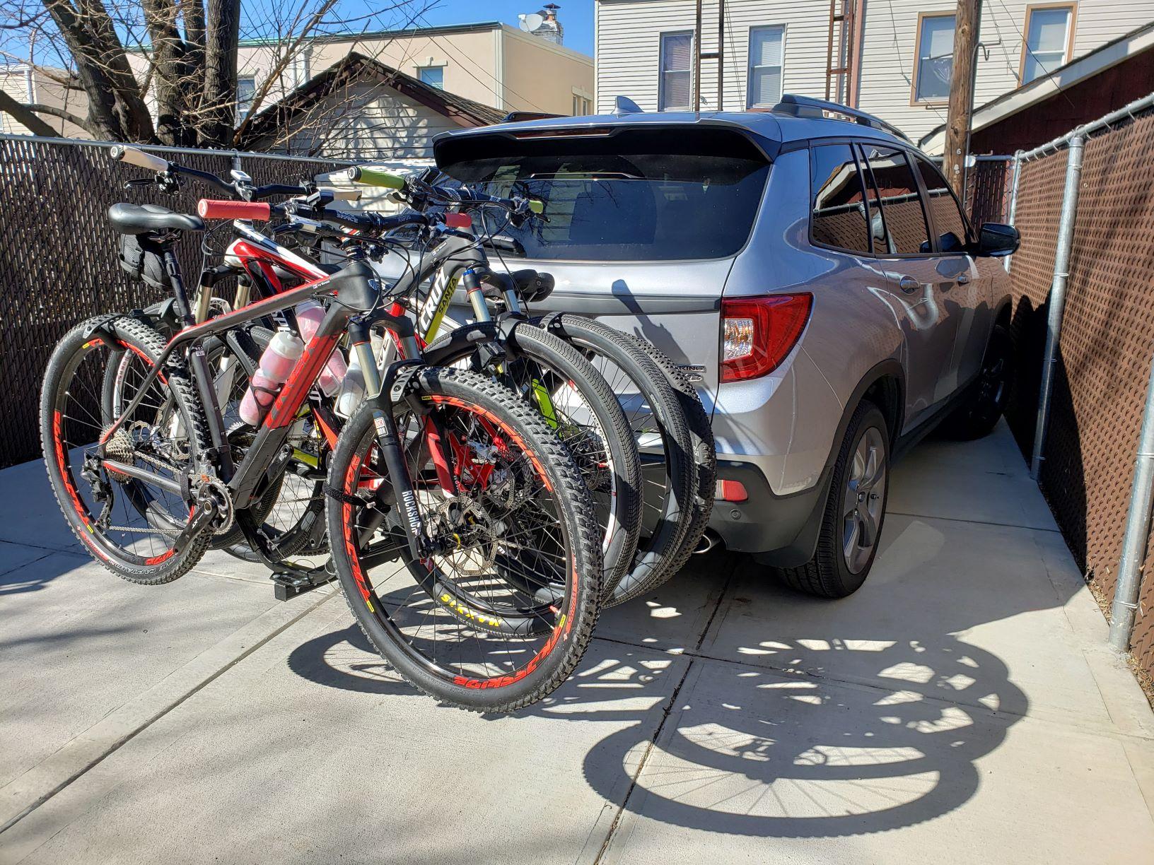 hitch bike rack honda passport forum
